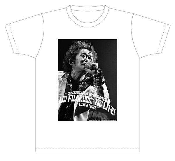 忌野清志郎さん「NO FUJIROCK, NO LIFE!」記念Tシャツ2