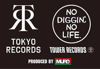 TOKYO RECORDS in TOWER RECORDS SHIBUYAロゴマーク