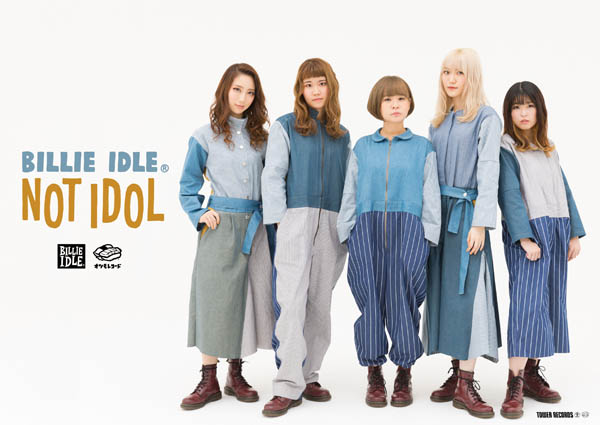 BILLIE IDLE® × TOWER RECORD オリジナルポスター
