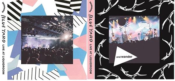 「BLUE YARD LIVE AT LIQUID ROOM[CD+DVD]」Aバージョン、Bバージョン
