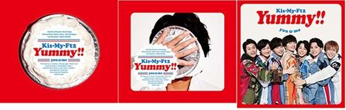 『Yummy!!』初回盤A、初回盤B、通常盤