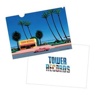 HIROSHI NAGAI × TOWER RECORDS クリアファイル2