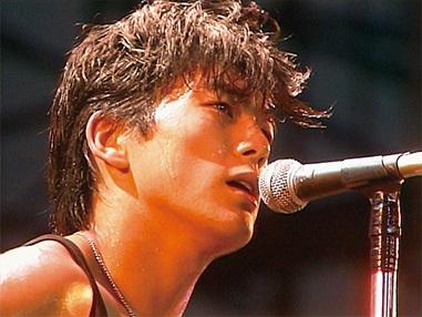 「NO MUSIC, NO LIFE.」ポスター 尾崎豊