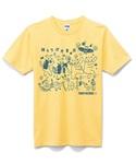 Tシャツ_lightyellow_front
