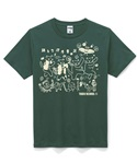 Tシャツ_mossgreen_front