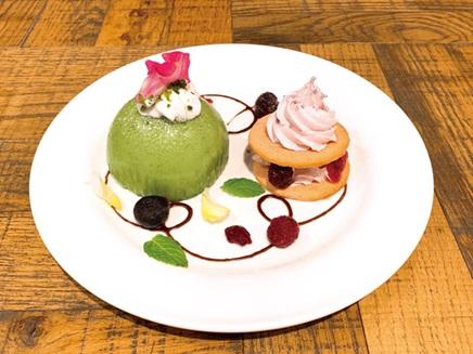 パルモン&ピヨモンのケーキプレート