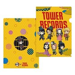 鬼滅の刃 × TOWER RECORDS A4クリアファイル(全1種)