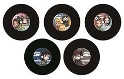 鬼滅の刃 × TOWER RECORDS レコードコースター(全5種)
