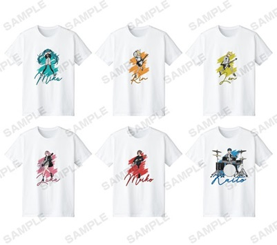 Tシャツ(全6種)