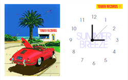 「鈴木英人 × TOWER RECORDS」オリジナルデザイン時計