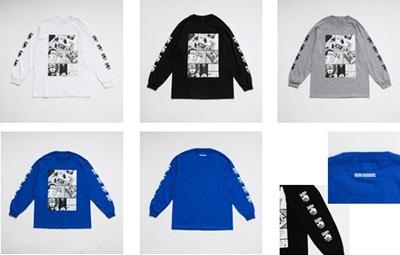 少年イン・ザ・フッド × WEARTHEMUSIC_L_S T-shirt
