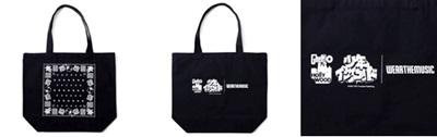 少年イン・ザ・フッド × WEARTHEMUSIC Tote Bag