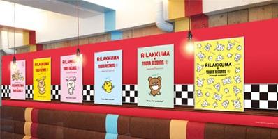 コラボカフェ店内壁面イメージ