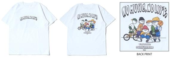 RSC × WTM S/S T-shirt White