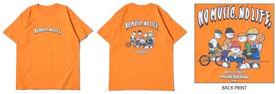 RSC × WTM S/S T-shirt Orange