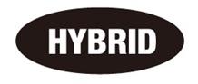 HYBRIDロゴ