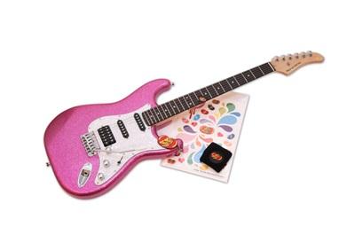 ギター女子_賞品ギター