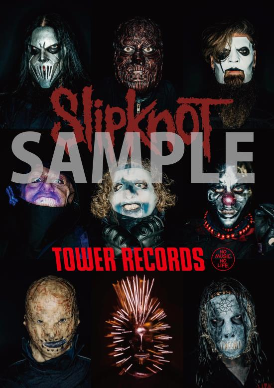 Slipknot×TOWER RECORDS開催!