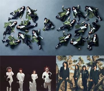 欅坂46 / SEKAI NO OWARI / THE YELLOW MONKEY