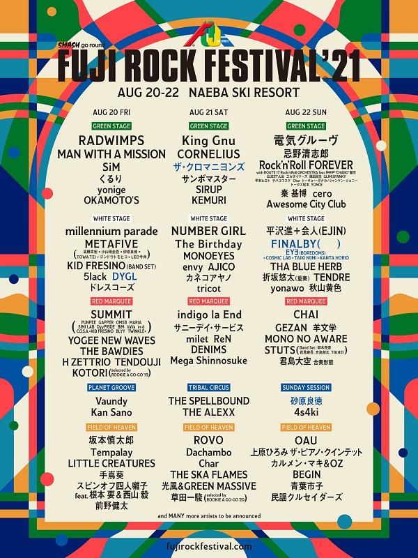 FUJI ROCK FESTIVAL'21