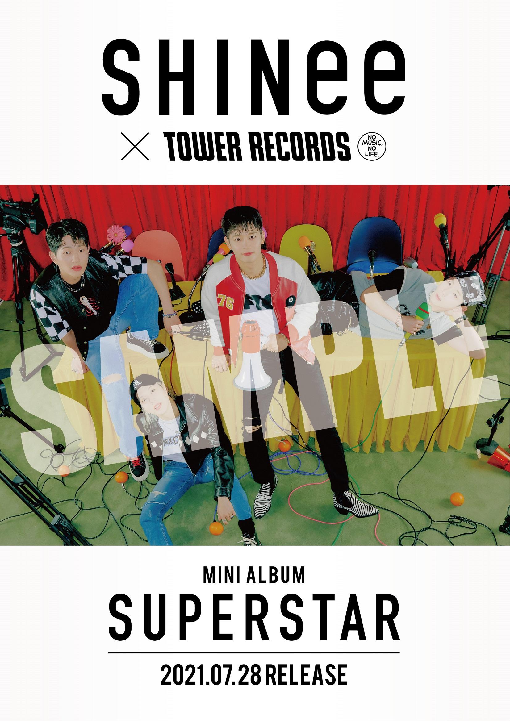 SHINee×TOWER RECORDS コラボレーション施策決定!