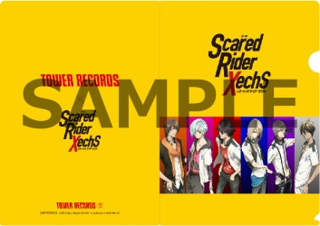 TOWER RECORDS×Scared Rider Xechs