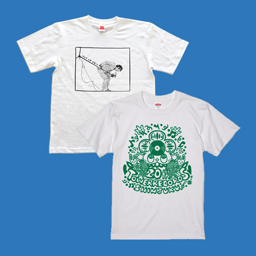 タワーレコード新宿店20周年祭 タワレコ限定商品