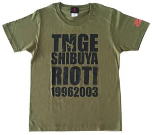 TMGE SHIBUYA RIOT Tシャツ