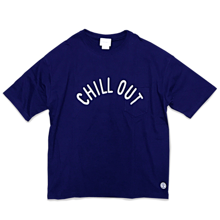 Chill Out BIG Tee navy