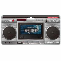 カセットテープ型カードホルダー