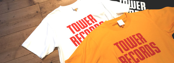 TOWER RECORDS T-shirt