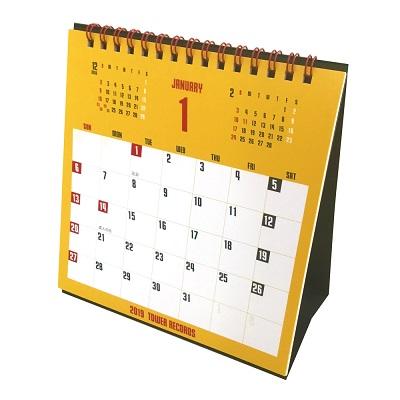 タワレコ卓上カレンダー