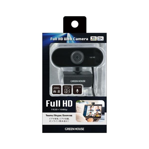 Webカメラ GH-WCMFA-BK