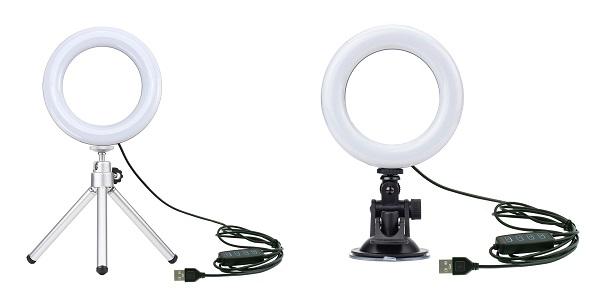 グリーンハウス リング型LEDライト