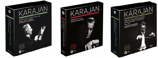 『Karajan Official Remastered Edition』第3弾