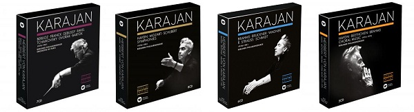 『Karajan Official Remastered Edition』完結編・第4弾(全4タイトル)