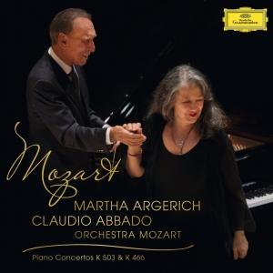 1位:アルゲリッチ&アバド モーツァルト:ピアノ協奏曲第20&25番
