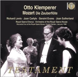 クレンペラーの「魔笛」~1962年1月4日 王立歌劇場、コヴェントガーデン・ライヴ