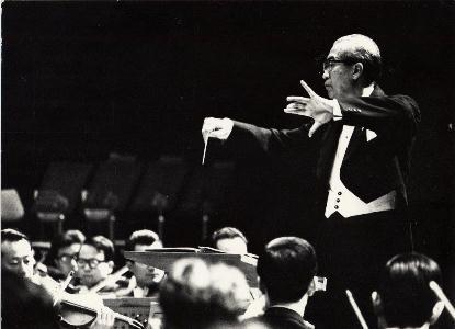 近衞秀麿(指揮)、札幌交響楽団