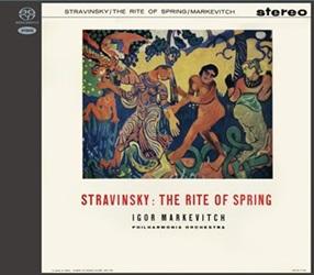 ストラヴィンスキー:春の祭典、チャイコフスキー:くるみ割り人形組曲、ロメオとジュリエット(SACDハイブリッド)/イーゴル・マルケヴィチ、フィルハーモニア管弦楽団(TDSA-22)