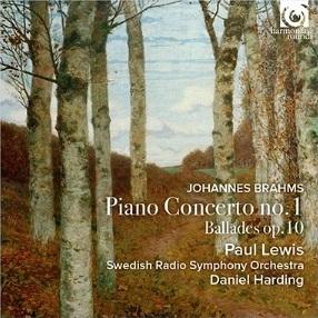 ポール・ルイス&ダニエル・ハーディングによるブラームスのピアノ協奏曲第1番!