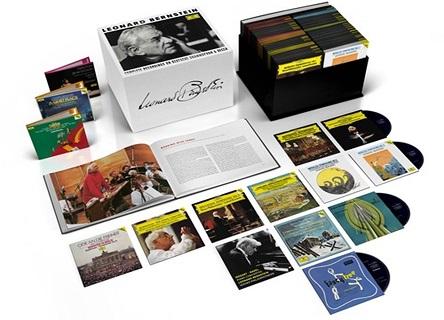 バーンスタインDG、Decca録音全集