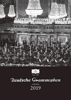 ドイツ・グラモフォン・カレンダー2019