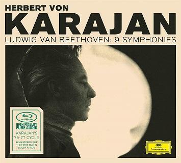 カラヤンのベートーヴェン交響曲全集BDオーディオ