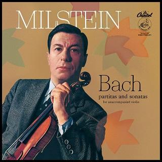 ミルシテインのバッハ無伴奏(モノラル旧盤)