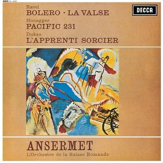 アンセルメのフランス管弦楽曲集