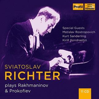 リヒテルのラフマニノフ&プロコフィエフ