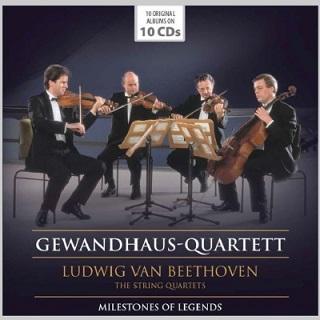 ゲヴァントハウス弦楽四重奏団のベートーヴェン