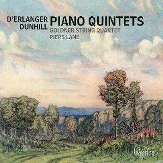 デランジェ&ダンヒル:ピアノ五重奏曲集