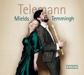 テレマン:ソプラノとリコーダーのための作品集